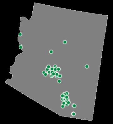 Arizona Client Map